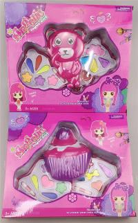 儿童化妆品彩盒