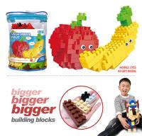 苹果+香蕉大颗粒积木 益智积木玩具(139PCS)