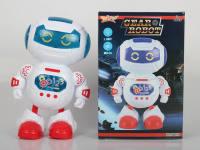 电动跳舞机器人带灯光音乐