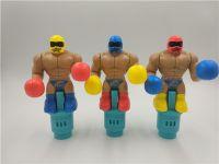 拳击手 装糖果玩具 赠品 小玩具