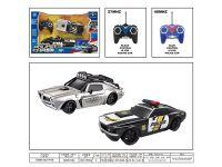 1:18警匪追逐遥控车(两只装)(不包电)遥控车玩具