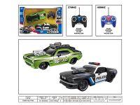 1:16警匪追逐遥控车(两只装)(不包电)遥控车玩具