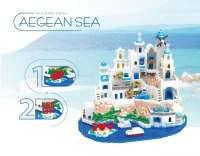爱琴海建筑模型大型建筑摆件5810pcs