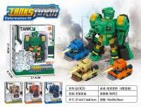 托宝V战警 坦克(功能,头跟胸口可按压)  (4色混装)