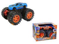 怪物物阿斯顿马丁 1:16惯性车 橙蓝两色混装