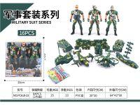 PVC盒庄军事套装