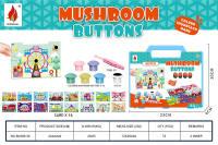蘑菇钉66PCS 拼图益智玩具