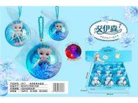 冰雪娃娃水晶球