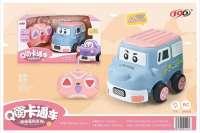 欣乐儿Q萌趣味遥控卡通车玩具