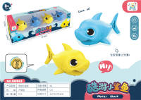 上链鲨鱼 上链玩具开窗包装盒