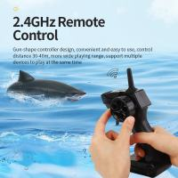 遥控鲨鱼 2.4G仿真电动动物高速游艇玩具