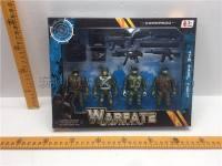 军事组合 军人军事玩具
