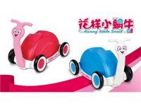 花样小蜗牛 卡通车玩具