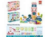 彩泥玩具-爆米花机两色混装