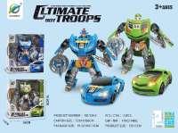 汽车变形机器人 男孩模型玩具