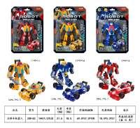 方程式变形机器人 男孩模型玩具