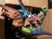 软胶恐龙混装称斤处理