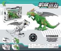 大号电动霸王龙恐龙模型玩具灯光行走带叫声恐龙批发生日礼物礼盒