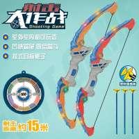 新款儿童玩具弓箭 军事模型标靶射箭玩具 地摊货源儿童吸盘弓箭