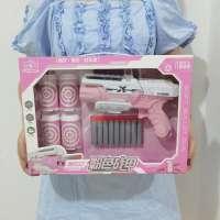 女孩软弹枪少女粉系列礼盒装软弹枪亲子儿童玩具枪女生礼物批发
