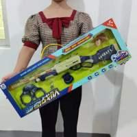 电动玩具枪橡皮筋枪2合1仿真儿童玩具闪光音乐枪男孩语音八音枪