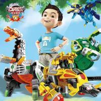 咖宝蛋神柏纳出品手动版礼盒全套玩具儿童益智变形恐龙蛋60318
