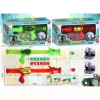 儿童过家家卡通植物竞技射击软弹枪玩具YD528-7亲子互动游戏套装
