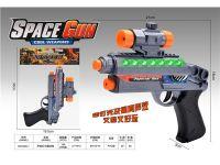 声音灯光震动枪 电动玩具枪
