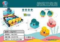 三角龙按压玩具(12pcs)