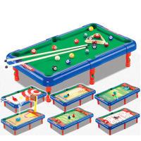 2040桌球儿童桌上台球机桌面游戏玩具7合1多功能台球桌亲子互动