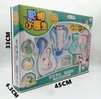 儿童过家家医具玩具女孩小护士医生套装玩具打针听诊器盒装玩具